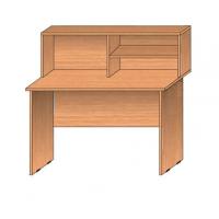 Столы с надстройкой