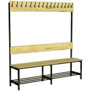Скамейка-вешалка 1