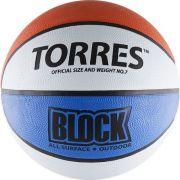 """Мяч баскетбольный """"TORRES Block"""", р.7"""