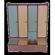 Шкаф гардеробный 4-х местный 1