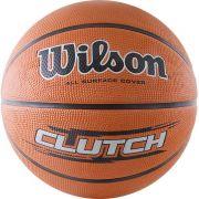 """Мяч баскетбольный """"WILSON Clutch"""", р.7, оранжевый"""