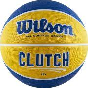"Мяч баскетбольный ""WILSON Clutch 285"", р.6, желтый"