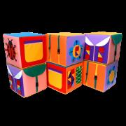 Пуфик-кубик Дидактический 1