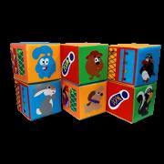 Пуфик-кубик Дидактический 2