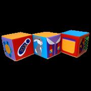 Пуфик-кубик Дидактический 3
