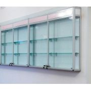 Настенные музейные витрины