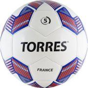 """Мяч футбольный """"TORRES Team France"""", р.5"""