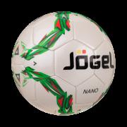 """Мяч футбольный """"Jögel JS-200 Nano"""", р.4, зеленый"""