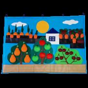 Коврик дидактический Фрукты и овощи