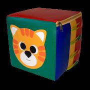 Пуфик-кубик Котик