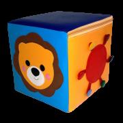 Пуфик-кубик Львенок