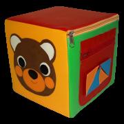 Пуфик-кубик Мишка