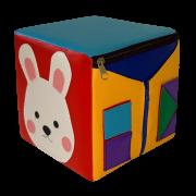Пуфик-кубик Зайка